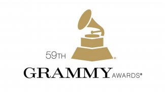 59th Grammy logo