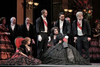 La traviata - credit Cory Weaver
