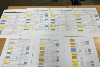 Paperwork tech schedules
