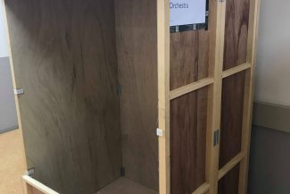 BBC Proms Japan: Wardrobe boxes