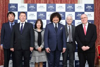 Jasper Parrott in Japan for launch of BBC Proms Japan 2019