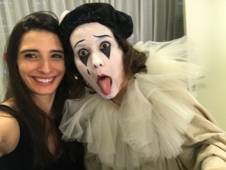 Associate Director Ariane Levy-Künstler & Patrica Kopatchinskaja in 2019