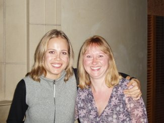 Jane Brown and Leila Josefowicz