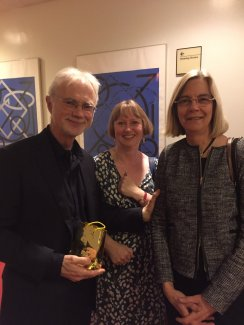 Jane Brown with John Adams and Janis Susskind