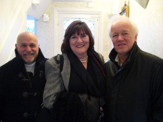 Linda Marks with David Zinman and Edo de Waart