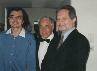 Pierre-Laurent Aimard, Pierre Boulez and Peter Eötvös