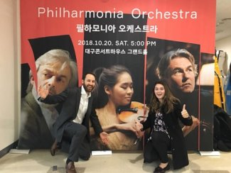Rafi Gokay-Wol & Rose Hooks on tour with Philharmonia Orchestra 2018