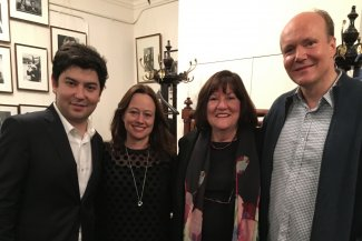 Behzod Abduraimov, Katie Cardell-Oliver, Linda Marks and Truls Mørk