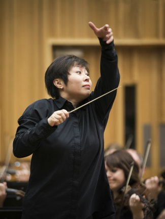 Xian Zhang - BBC NOW Principal Guest Conductor (credit BBC)