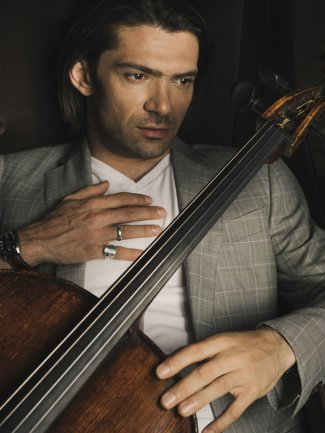 Gautier Capucon with his cello
