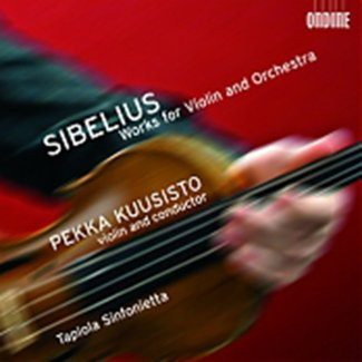 Jean Sibelius Works for Violin and Orchestra