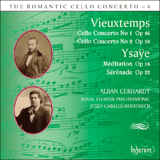 Vieuxtemps Cello Concertos