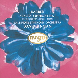 David Zinman - Barber: Adagio for Strings, Op. 11, etc.