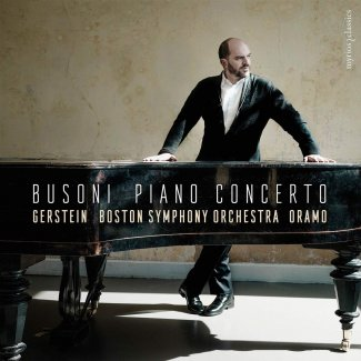 Kirill Gerstein playing Busoni's Piano Concerto